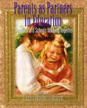 Parents as partners in education PDF