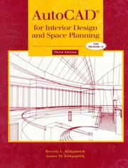 AutoCAD for interior design and space planning PDF
