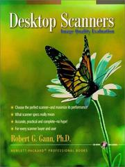 Desktop Scanners by Gann, Robert