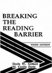 Breaking the reading barrier PDF