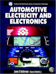 Automotive electricity and electronics by James D. Halderman