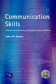Communication skills; a guide for engineering and applied science students