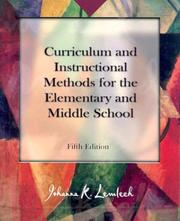 Curriculum and instructional methods for the elementary and middle school PDF