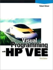 Visual programming with HP VEE PDF