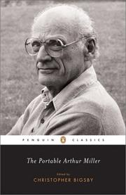 Cover of: The portable Arthur Miller by Miller, Arthur