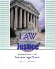 Law and Justice by Howard Abadinsky