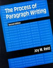 The process of paragraph writing PDF