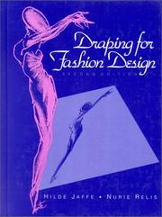 Draping for fashion design by Hilde Jaffe