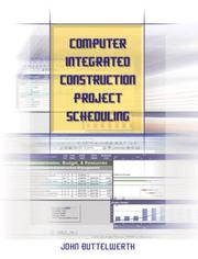 Computer Integrated Construction Project Scheduling PDF