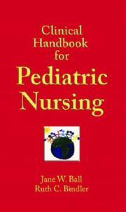 Clinical handbook for pediatric nursing PDF
