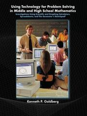 Using Technology and Problem Solving in Middle and High School Mathematics PDF