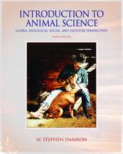 Introduction to Animal Science by W. Stephen Damron
