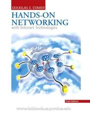 Hands-on networking with Internet technologies by Douglas Comer
