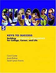 Keys to success by Carol Carter