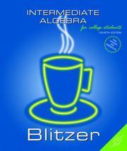 Intermediate algebra for college students PDF