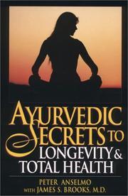 Ayurvedic secrets to longevity & total health PDF