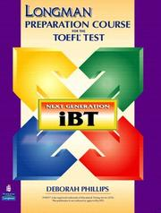 Longman Preparation Course for the TOEFL(R) Test by Deborah Phillips