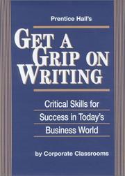 Prentice Hall's Get a Grip on Writing PDF
