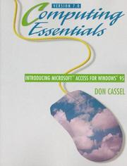 Computing essentials by Don Cassel