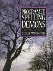 Programed spelling demons PDF