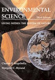 Environmental science by Charles E. Kupchella
