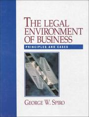 Legal Environment Of Business, The PDF