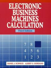 Electronic business machines calculation PDF