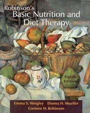 Robinson's basic nutrition and diet therapy PDF