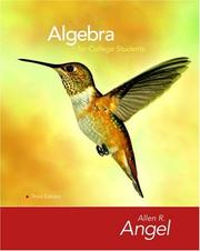 Algebra for College Students PDF