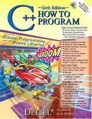 C++ How to Program by Paul J. Deitel, Harvey M. Deitel
