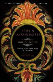 Kristin Lavransdatter by Sigrid Undset