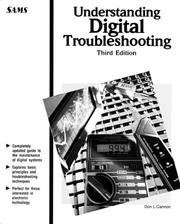 Understanding digital troubleshooting by Don L. Cannon