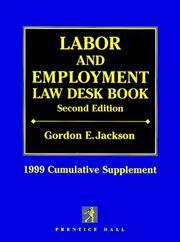 Labor and Employment Law Desk Book PDF