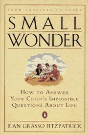 Small wonder by Jean Grasso Fitzpatrick