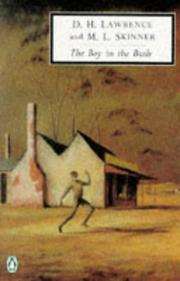 The boy in the bush by D. H. Lawrence
