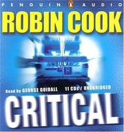 Cover of: Critical by Robin Cook