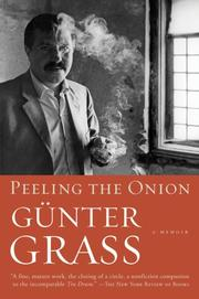 Peeling the Onion by Gnter Grass