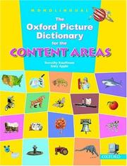 The Oxford Picture Dictionary for the Content Areas by Dorothy Kauffman