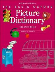 Basic Oxford picture dictionary by Margot F. Gramer