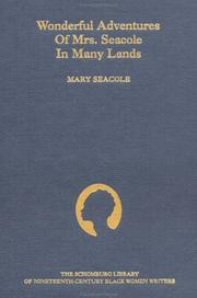Wonderful adventures of Mrs. Seacole in many lands PDF