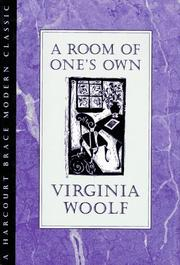 Room of one&#39;s own by Virginia Woolf