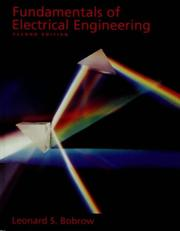 Fundamentals of electrical engineering PDF