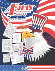 Fourth Of July Activity Book for Kids Ages 4-8
