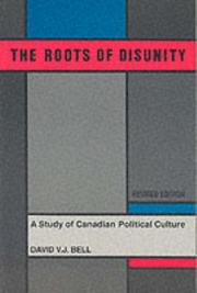 The roots of disunity by David V. J. Bell