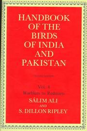 Handbook of the birds of India and Pakistan : together with those of Bangladesh, Nepal, Sikkim, Bhutan, and Sri Lanka