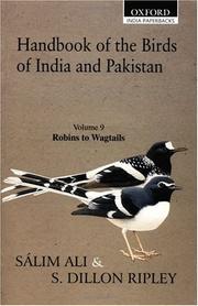 Handbook of the Birds of India and Pakistan
