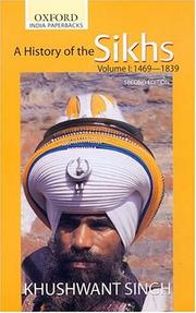 A history of the Sikhs by Khushwant Singh