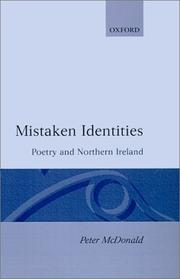 Mistaken identities by McDonald, Peter
