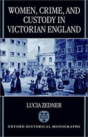 Women, crime, and custody in Victorian England PDF