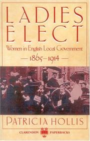 Ladies elect by Patricia Hollis